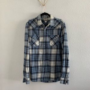 Men's Acne Plaid Shirt